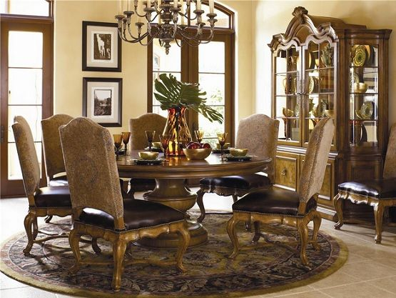 Hills Of Tuscany Dining Room Furniture By Thomasville Note Rectangular Table Instead