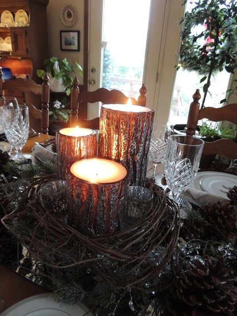 Dianne's Creative Table: Pining for Silver Pine