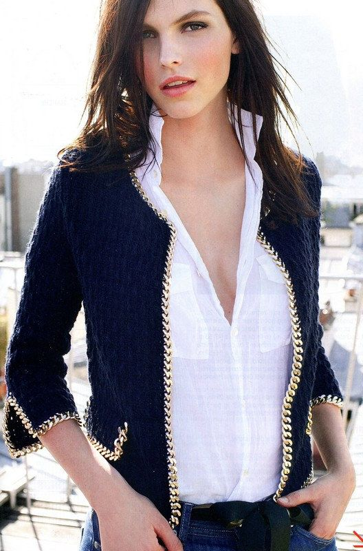 Crocheted Couture and Chains Jacket Crochet Pattern PDF. $1.90, via Etsy.