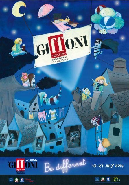 """https://www.facebook.com/photo.php?fbid=10152224269068832&set=a.10152224266908832.1073741851.41607193831&type=3&theater """"Scegli il manifesto che ti piace"""" poster finalista per l'edizione 2014 del Giffoni Experience"""