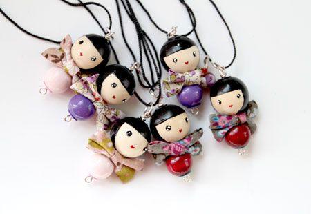 les sautoirs japonais à retrouver dans la boutique en ligne http://www.lespoisplumes.fr/Collection-Printemps-ete/Sautoir-Japonais