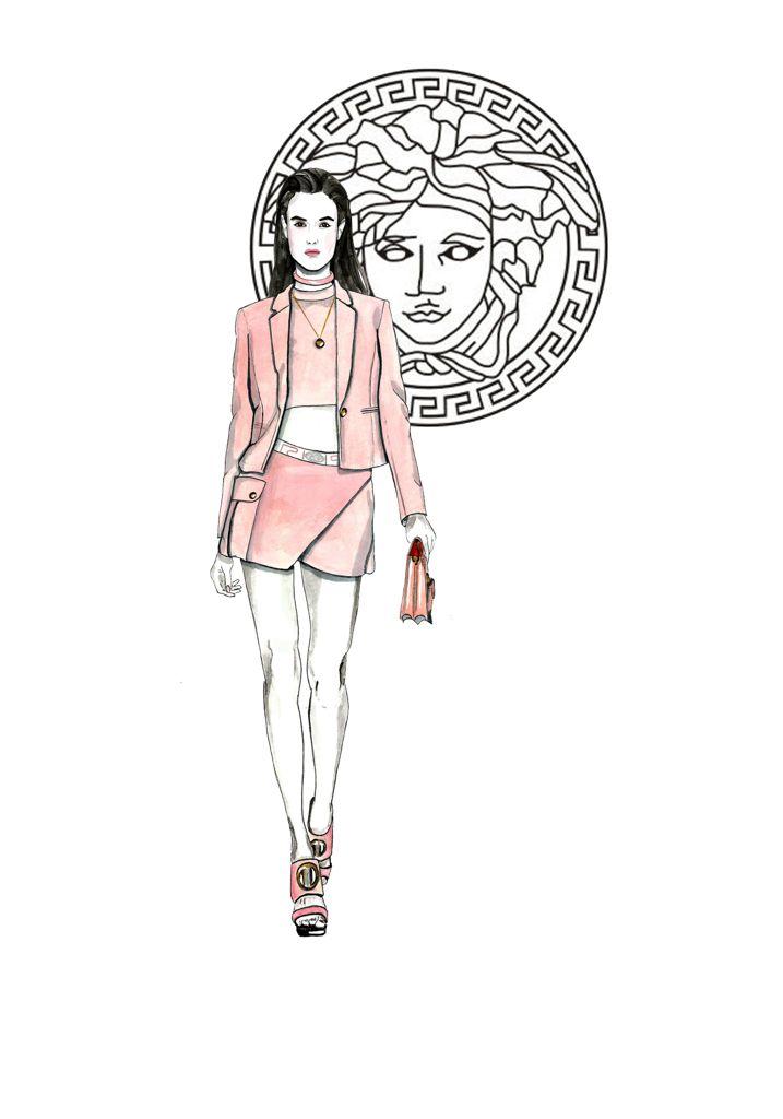 Blanca Padilla Versace