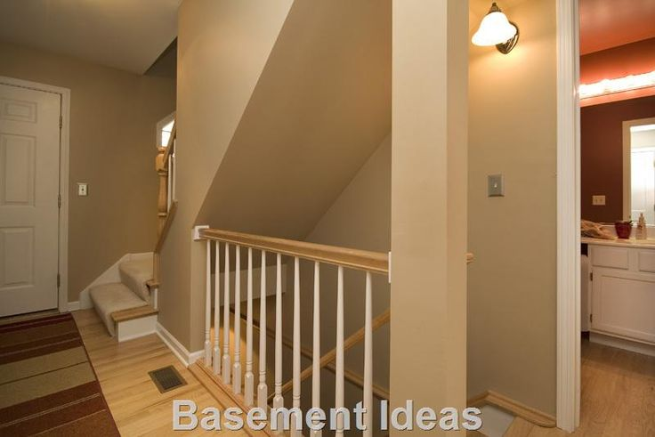 Best Basement Stairwell Opened Up To First Floor View 2 640 x 480