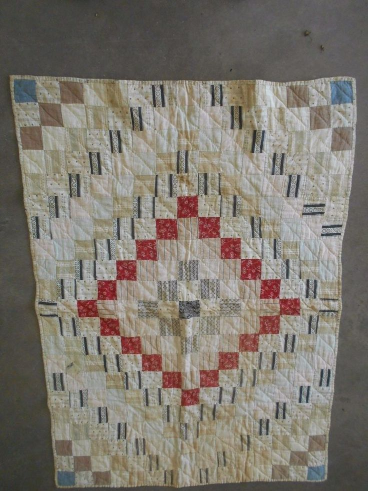 Antique Doll Baby Quilt