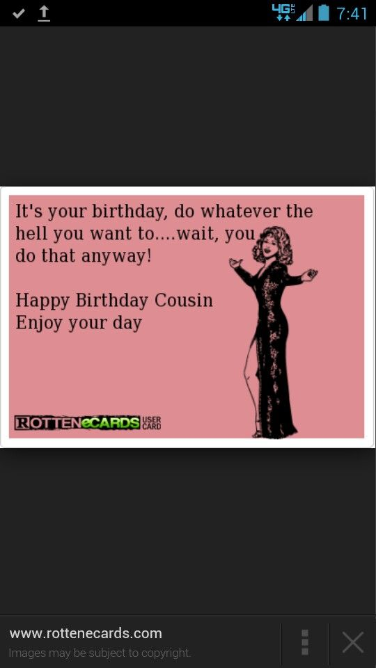 Funny Memes For Cousins : Best images about happy birthday cousin on pinterest
