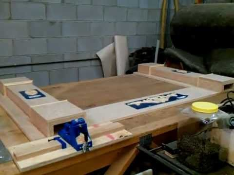 how to build a fireplace mantel and surround video
