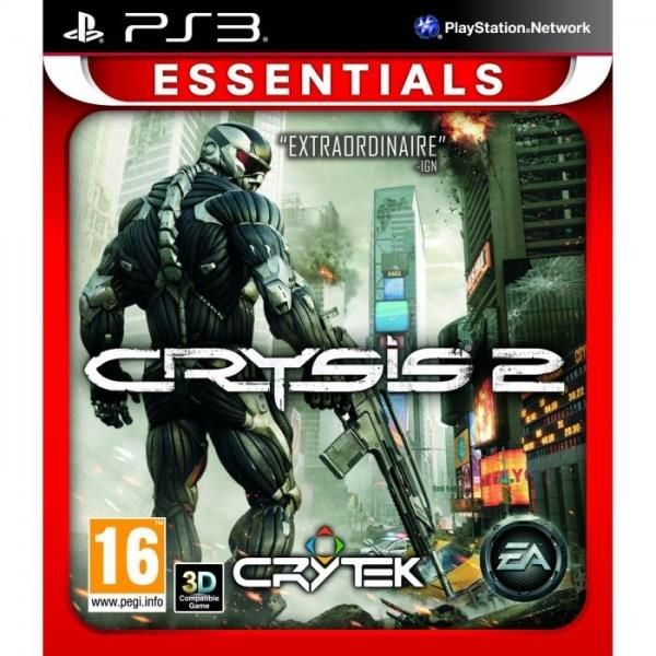 Crysis 2 PS3 Game (essentials)   http://gamesactions.com shares #new #latest #videogames #games for #pc #psp #ps3 #wii #xbox #nintendo #3ds