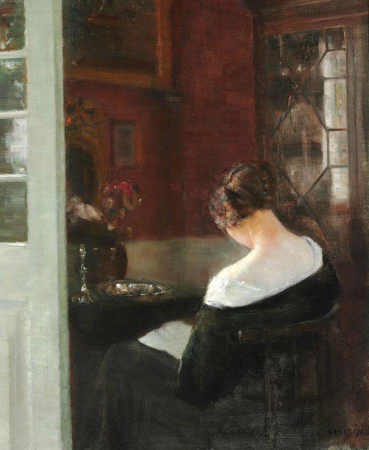 Карл Вильхельм Холсё (Carl Vilhelm Holsøe), 1863-1935. Дания - Поэзия тишины