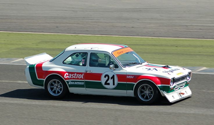 Ford Escort in race form.
