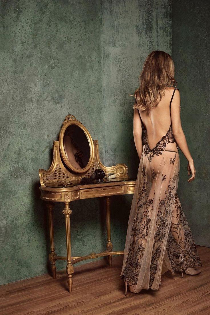 I.D. Sarrieri | La Naissance de Vénus long dress | SS2016