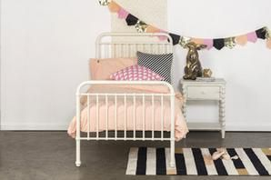 Incy interiors Mia bed WHITE - SALE PRICE, SINGLE AND KING SINGLE #worthynzhomeware wwworthy.co.nz