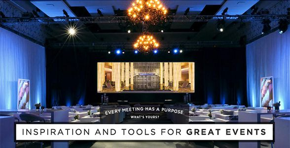 Inspiration and tools for great events. #Marriottmeetings