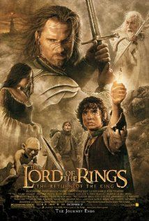 I Love this movie. Part 3 of the lord of the rings trilogy. check out  thelordoftherings.net for the official movie sight.