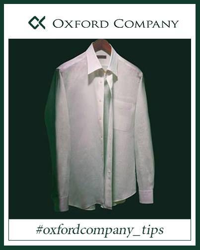 #oxfordcompany_tips| Γνωρίζατε ότι η ιδανική κρεμάστρα για ανδρικά πουκάμισα έχει άνοιγμα 45cm και το ύψος της μέχρι τον γάντζο θα πρέπει να είναι 3,5-4cm;  Extra tip: Nα κουμπώνετε και τα δύο πάνω κουμπιά και όχι μόνο το ένα!