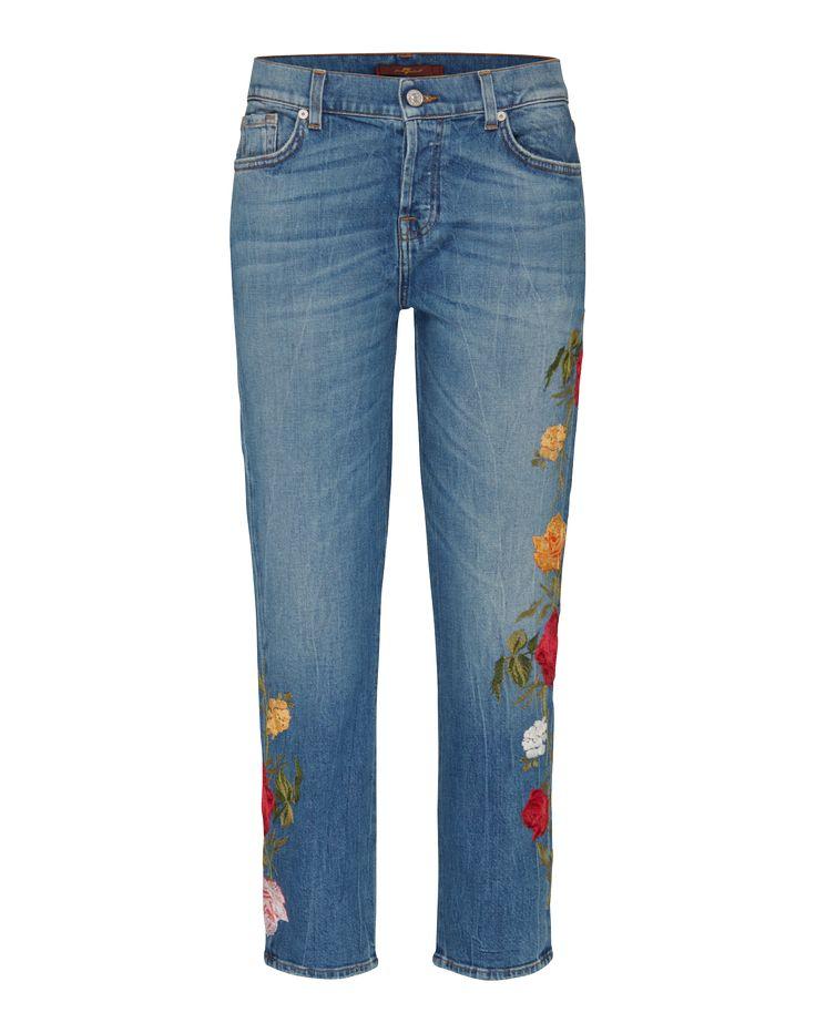 Moderne Jeans Mit Gekürzten Beinabschlüssen Von 7 For All Mankind  @aboutyoude. Dieses It