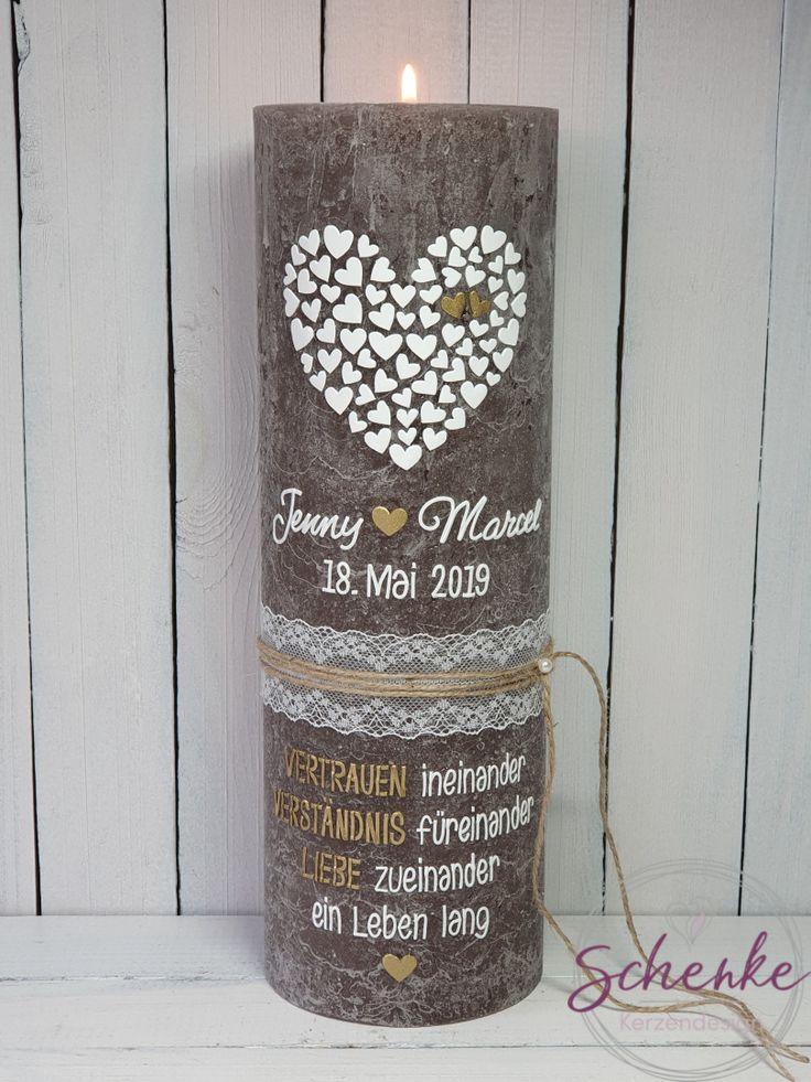 Hochzeitskerze, Hochzeit Traukerze, Trauung, bruiloft, huwelijk, huwelijkskaars,… – Hochzeitskerzen/Traukerzen