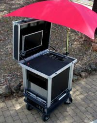 Mobile Video Cart, Mobile Presentation Cart, Mobile Computer Cart & Live Event System