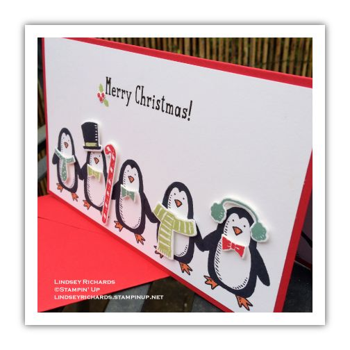 Snow Place and Snow Friends Christmas Card, Lindsey Richards, Stampin' Up! lindseyrichards.stampinup.net