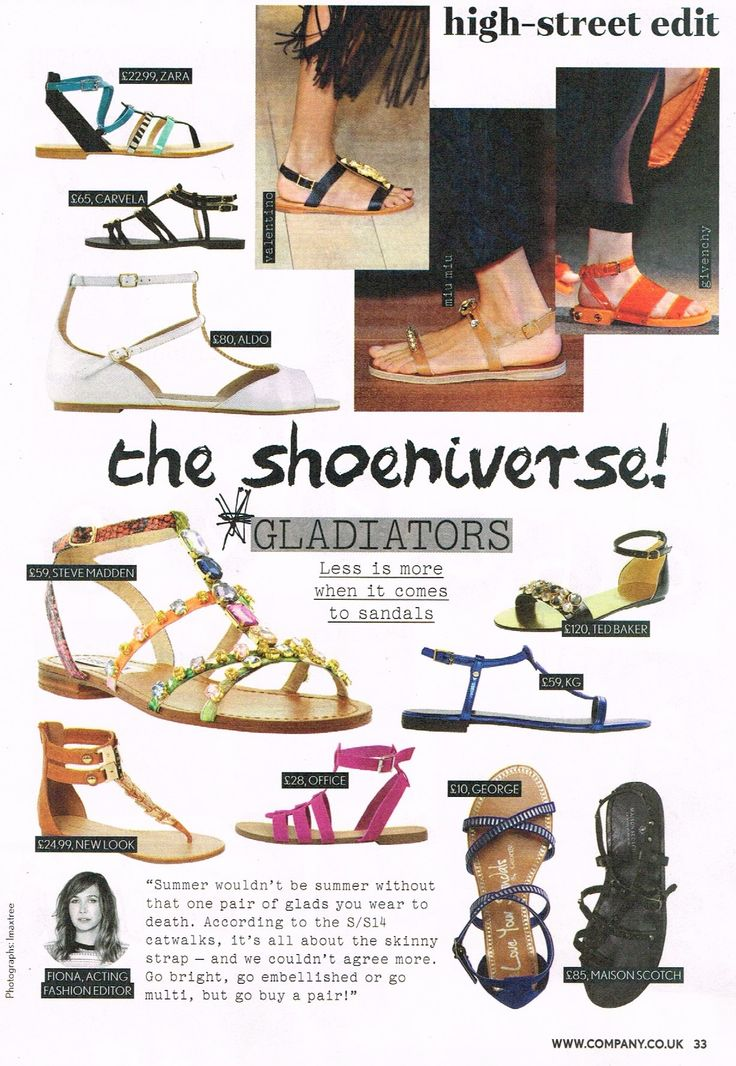 Ted Baker Footwear on Company Magazine 30.05.14
