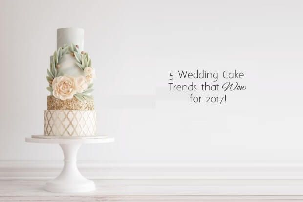 Find out what delicious dessert trends we';ll be sinking our teeth into this year with today's guide to the top wedding cake trends for 2017!