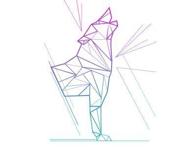 wolf tattoo geometric - Buscar con Google