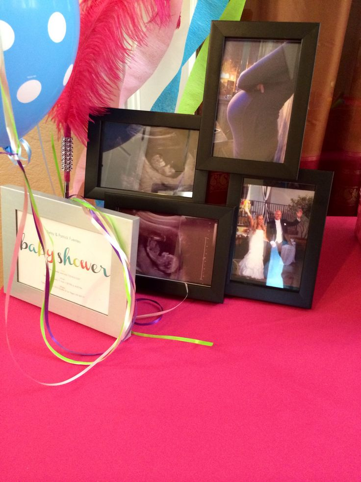 Baby shower decor and games