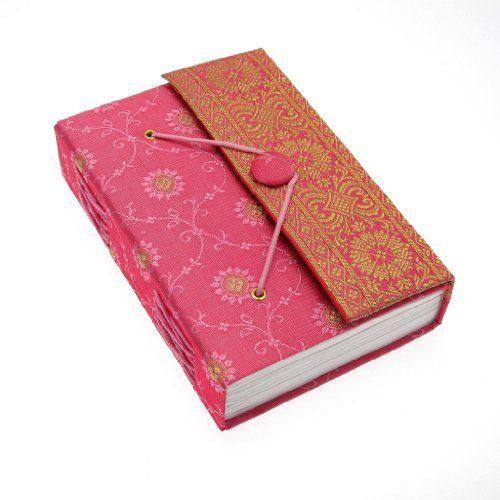 Fair Trade Quaderno ricoperto in tessuto sari 110 x 160 mm medio rosa, http://www.amazon.it/dp/B003S4BA3Q/ref=cm_sw_r_pi_awdl_xs_aUcSybFME00BD/255-3841364-8793037