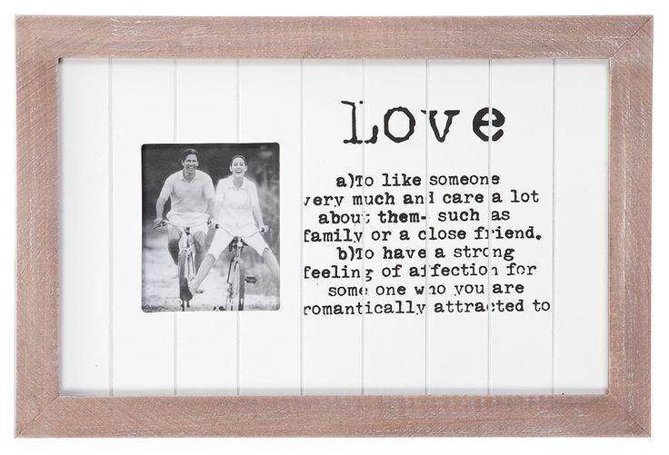Fotolijst Judy: romantisch lijstje voor een speciaal moment #tip #HomeLabel #leenbakker