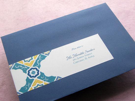 Labels For Wedding Invites: 16 Best Mailing Label Design Images On Pinterest