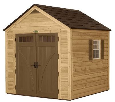 Suncast Sheds | Outdoor Storage Sheds & Shed Kits  Hybrid shed, wood and resin