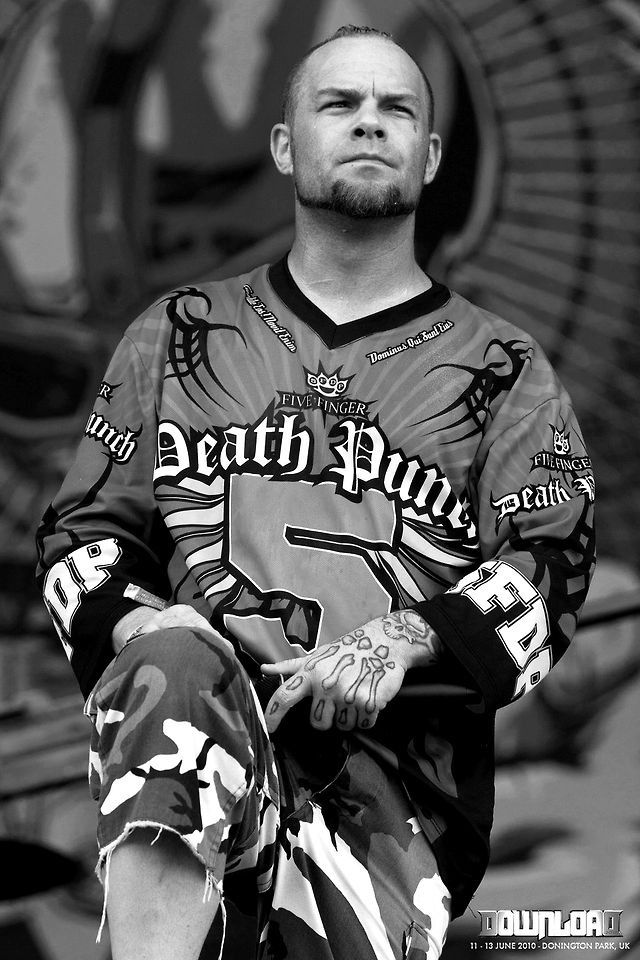 Ivan Moody of Five Finger Death Punch. He looks a lot like a guy I work with!