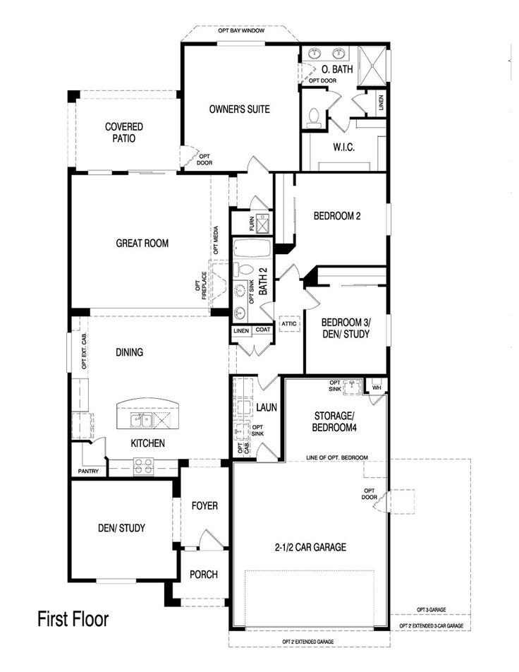32 best Pulte Homes Floor Plans images – Pulte Homes Floor Plans