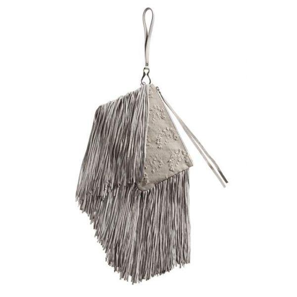 ginger - handbag - stone - clutch