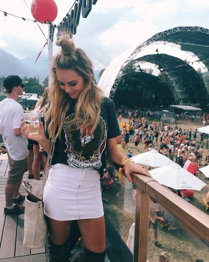 festival outfit - melissa merk / @melissamerk