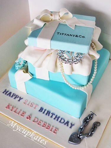 40 best Tiffany Co Theme images on Pinterest Tiffany cakes