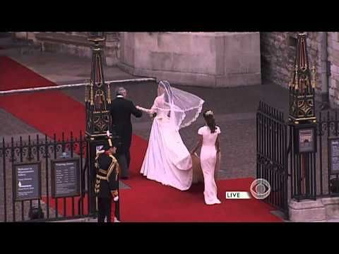 Kate Middleton arrives at Westminster
