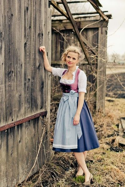 Beautiful colours, especially the bodice. I bought a dirndl dress in Germany and still have it.