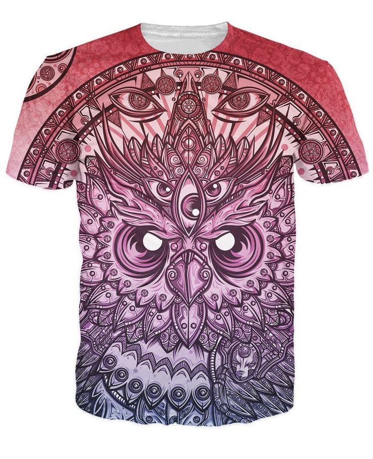 Fashion Kleding tops tees trui psychedelische God Uil T Shirt 3d t shirt Vrouwen Mannen Casual tshirt Zomer Stijl Crewneck tee in Fashion Kleding tops tees trui psychedelische God Uil T-Shirt 3d t-shirt Vrouwen Mannen Casual tshirt Zomer Stijl Crewneck tee van T- shirts op AliExpress.com | Alibaba Groep