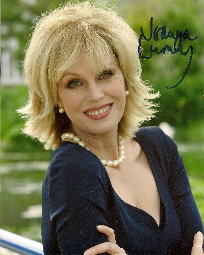 Joanna Lumley Bond Girl Autograph 8x10 Signed Photo UACC