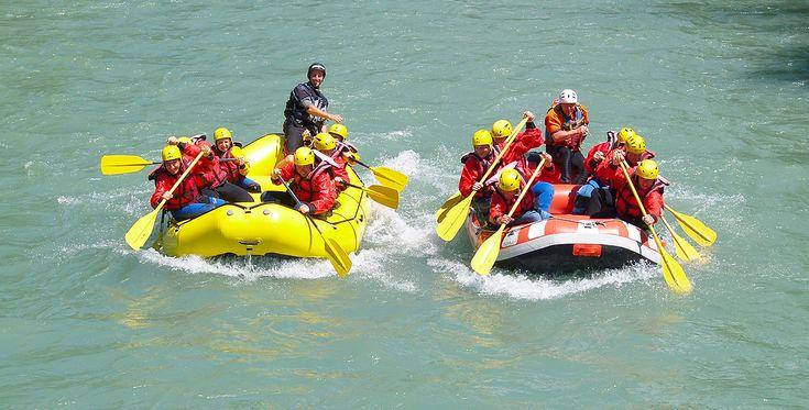 Schlauchboot-Halbtagestour auf der Saalach in Bad Reichenhall #Abenteuer #Boote #Bootsfahrt
