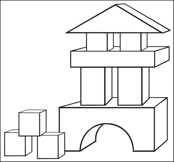 Block Coloring Pages Printable Coloring Pages Color Coloring
