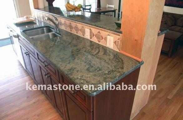 Green Countertops Kitchen : ... Kitchen Countertops,Tropical Green Countertop,Green Kitchen Countertop