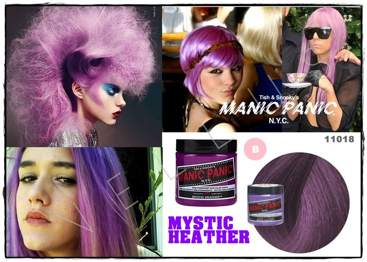 Manic Panic Amplified Mystic Heather  Vellus Hair Studio 83A Tanjong Pagar Road S(088504) Tel: 62246566