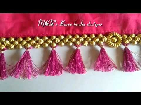 MCB's Saree kuchu designs