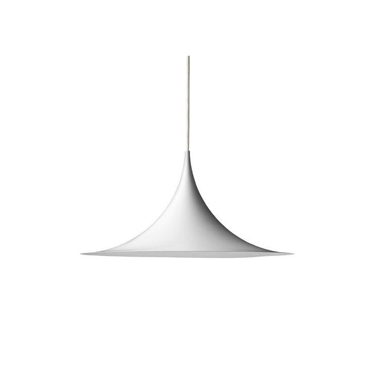 Semi pendel Ø30, hvit i gruppen Belysning / Lamper / Taklamper hos ROOM21.no (106599)