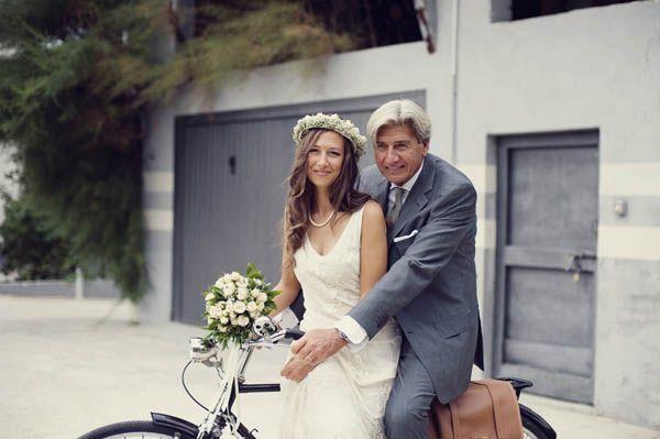 Un matrimonio in stile anni �70 a tema pomodori: Francesca e Riccardo