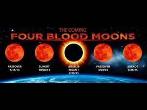 March 2014 Breaking News Four Blood Moons April 2014 - 2015 Last Days.. don't know about these I deeply suggest you do your research.