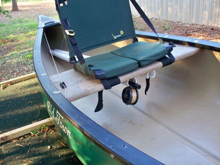 Canoe modifications canoe pinterest canoeing for Fish camping boat