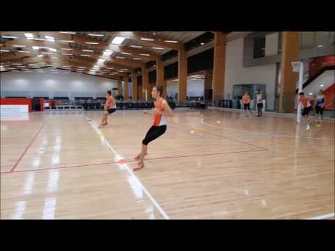 FAST PASSING DRILL FOR ALL PLAYERS ESPECIALLY CENTRE COURT - YouTube
