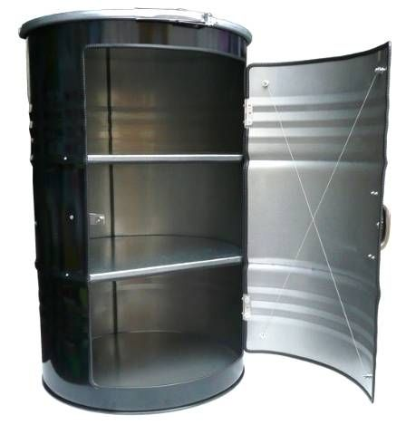 55 gal drum into a cabinet...rock on!